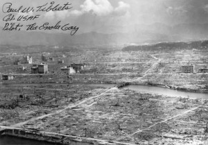 Hiroshima after atom bombing