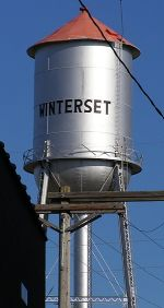 Water Tower, Winterst, Iowa